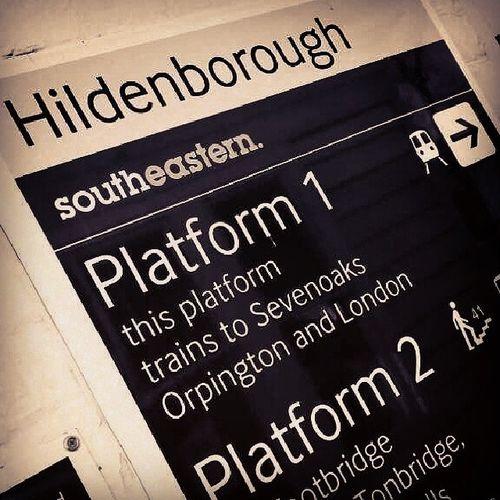 Visionsofhildenborough Railway Platform