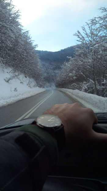 Driving AWD  Cloud - Sky Watch Snow ❄ Snowtrees Roadtrip Foresthills Mountains Goskiing Snowboarding
