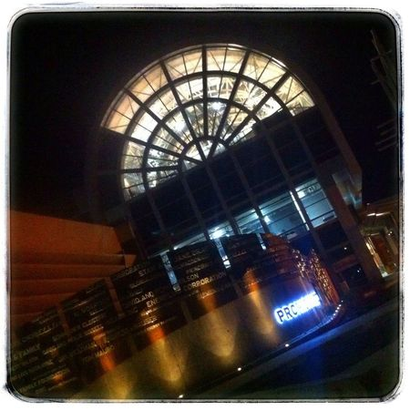 Campus at night. Photography IPhoneography Night YYC