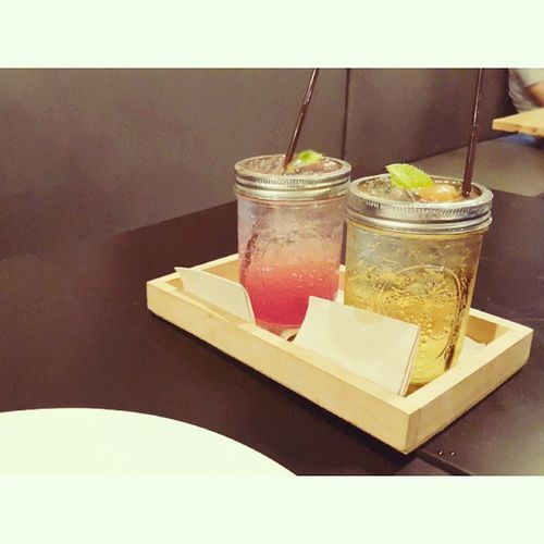 Italian Soda Drinks : Plum Sprite Vs Strawberry อาลมดี Arelomdeecafe