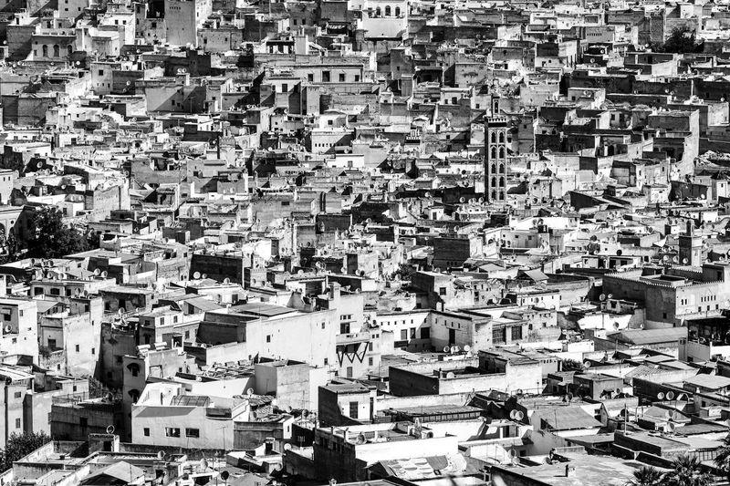 Architecture B&w B&w Photography Building Exterior Built Structure City City Cityscape Day Light Medina De Fez Morocco No People Outdoors P&B