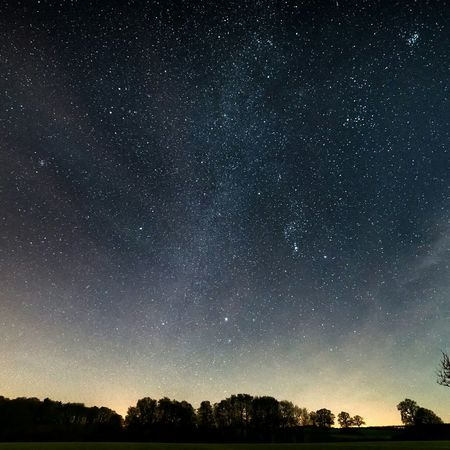 Night Night Photography Stars Landscape