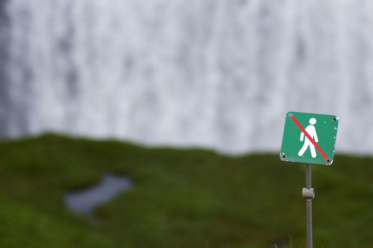 Iceland Sign