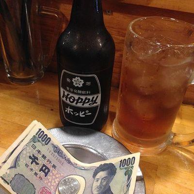 キャッシュオンで黒ホッピー! Hoppy Drinking 酒場 赤羽