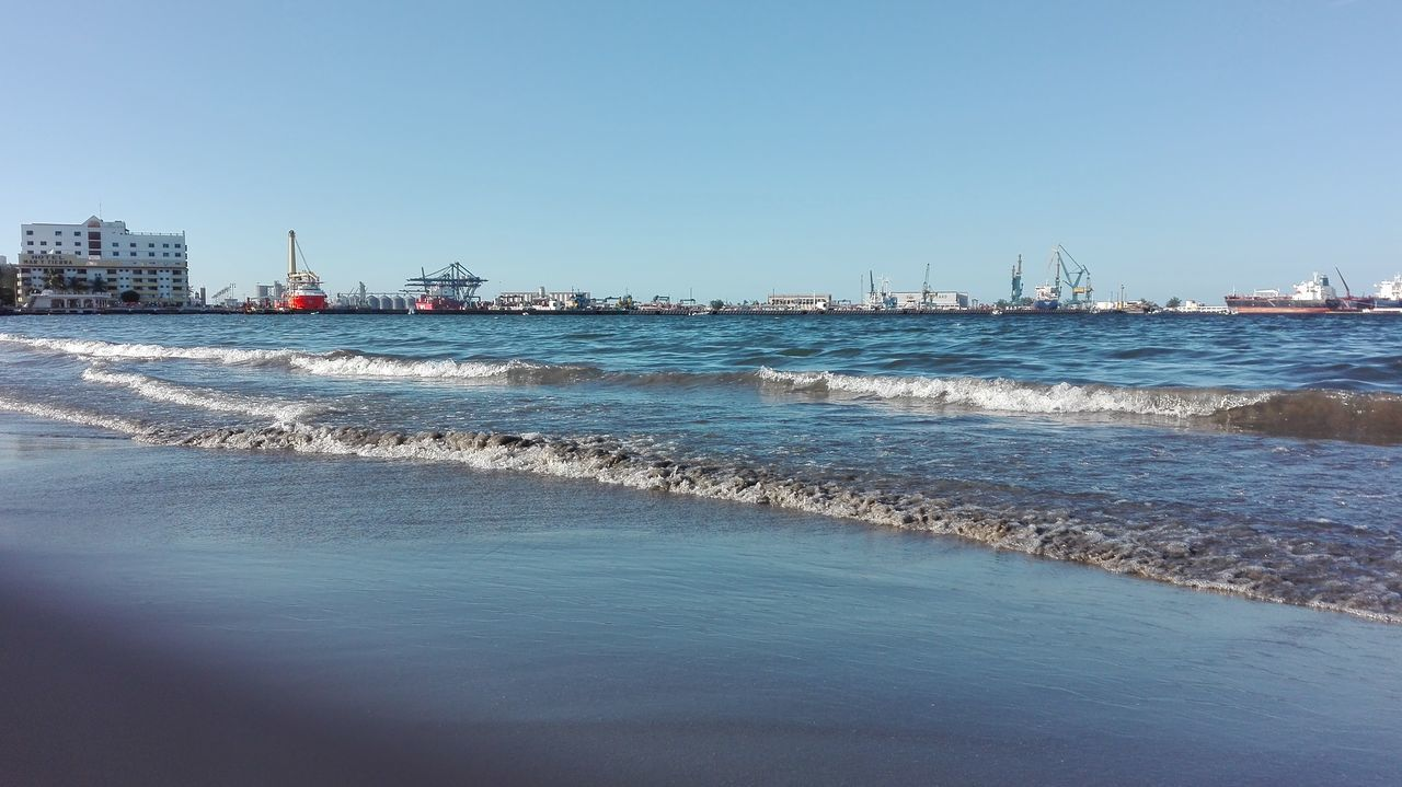 TakeoverContrast Beach Clear Sky Sea Water Tranquil Scene Tranquility Beauty In Nature Day Beauty In Nature Nature México Veracruz