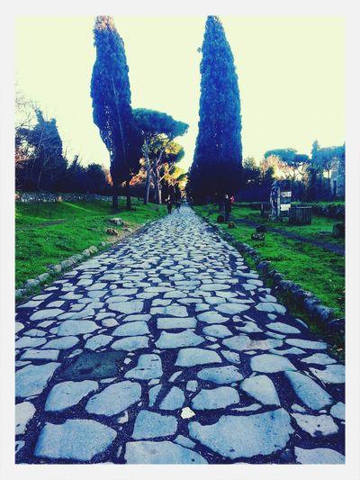 Walking Around Rome #appiaantica #countryside #nature #sky #clouds Enjoying The Sun Relaxing