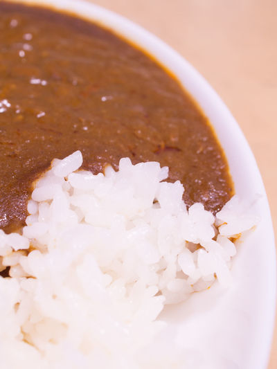 Curry Curry Rice Japanese Curry Japanese Food Rice Bowl Dairy Product Food No People Ready-to-eat