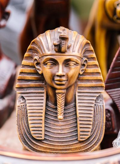 Close-up Egypt Egyptian Egyptian Statue Gold Colored Indoors  No People Pharahos Pharahos Statue Sculpture Sculptures Sculture Statue Statue