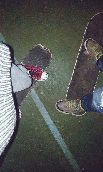 Dream Came True. Skating Mates Skating Time Skate Sk8 Enjoying Life Capture The Moment That's Me Taking Photos Bestfriend Nightlife Night