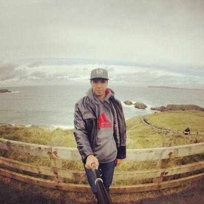 Aproveita agora esquece tudo e sai, mas lembra q saúde e ser feliz então vai ... Gopro Hero3 Goprobrsl Rap Trippics Blogmochilando Selfiegopro Ireland Paradise