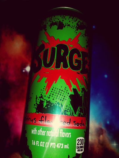 They have arrived! Surge Coke