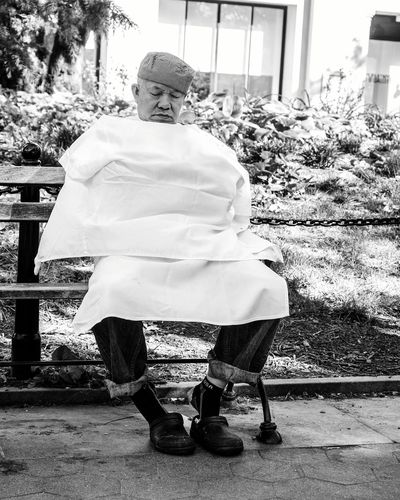 """Chef life..."" Washington Square Park • NYC The Street Photographer - 2016 EyeEm Awards Streetphotography Street_capture Everybodystreet Portrait Candid Portraits Hikaricreative Helloicp Lensculture Blackandwhite Bw_collection Peopleofnyc Nyc Streets Characters People Watching"