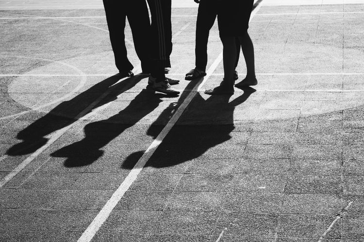 EyeEmNewHere Outdoors Standing Togetherness Human Body Part Human Leg Men People Shadow Blackandwhite Black & White B&w EyeEm Selects