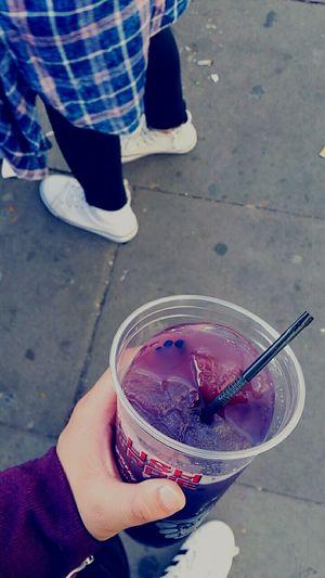 Galaxy Uk London LONDON❤ Slushie Galaxy Blue Pink Purple Converse Fannel White Black Adidas Adidassupertar Love Cup Straw Black