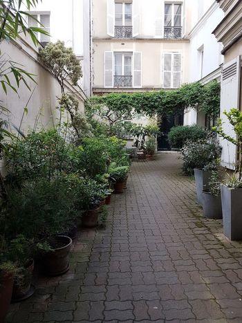 Cour intérieure a Paris