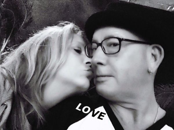 Love Love ♥ Lovelovelove Black & White Blackandwhite Photography Blackandwhite Black&white Julie & yours truly at an Elvis Costello concert. He is the best.. Selfie ✌ Monochrome Photography