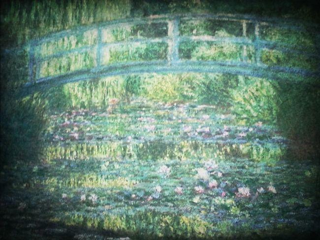Finalmente, depois de 15 anos eu pude contemplar ao vivo as obras daquele que é o meu pintor favorito: Claude Monet. Não foi fácil tirar essa foto, pois no D'orsay é proibido tirar qualquer foto. Contudo, graças à sorte e uma boa dose de oportunismo, consegui guardar pra mim essa lembrança. :)