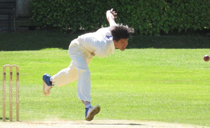 Fast bowler