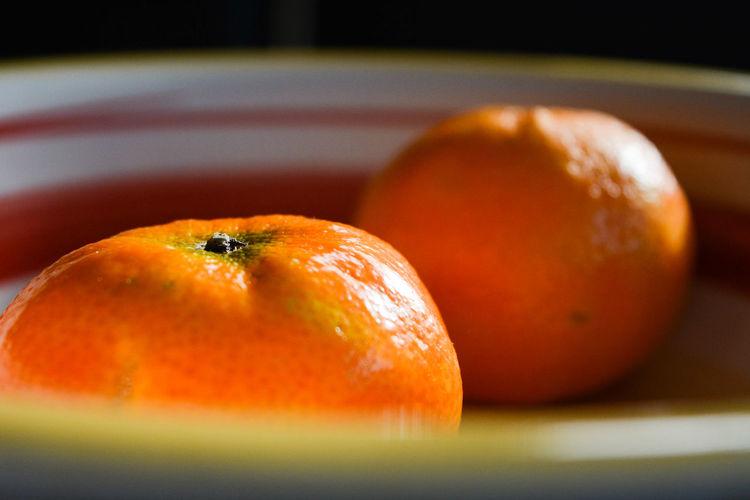 Close-up of orange slice