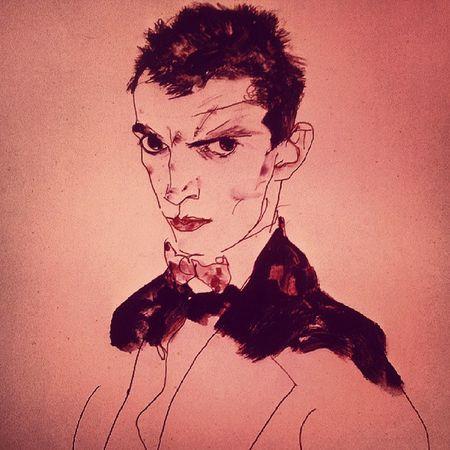 Schiele  Egonschiele Selfportrait 1912