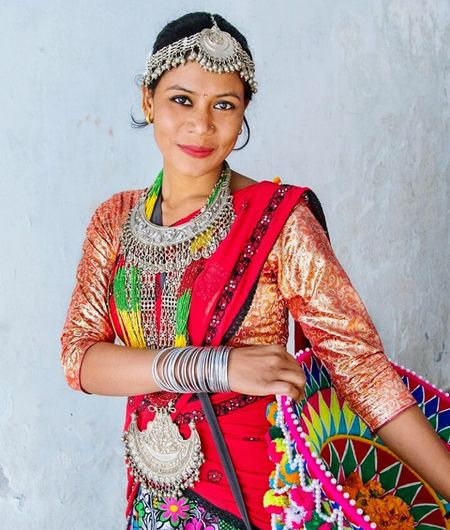 Looking At Camera Smiling Sari One Woman Only Bangle Happiness Beauty Traditional Clothing Jewelry Standing Cultures She Is Just Too Cute :)