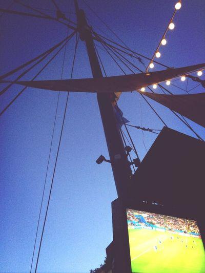 World Cup Final Brazil 2014 World Cup Night Sky