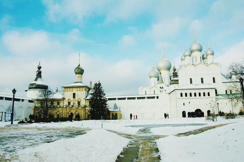 Hello World Rostov Ростовский Кремль