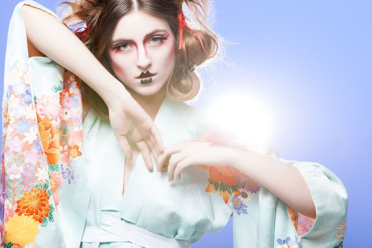 Silva Jorge Fashion Photography Editorial  Woman Geisha Colors