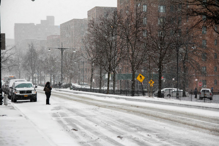 Let it Snow Horizontal Architecture Bare Tree Bronx Building Exterior Buildings Built Structure City City Life Cold Temperature Comuting Day Nature No People NY Outdoors Snow Snow ❄ Snowing Snowing ❄ Street Transportation Tree Trees Winter Winter The City Light