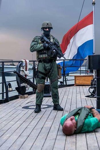 Dutch special forces Dutch Special Forces Rotterdam Flag