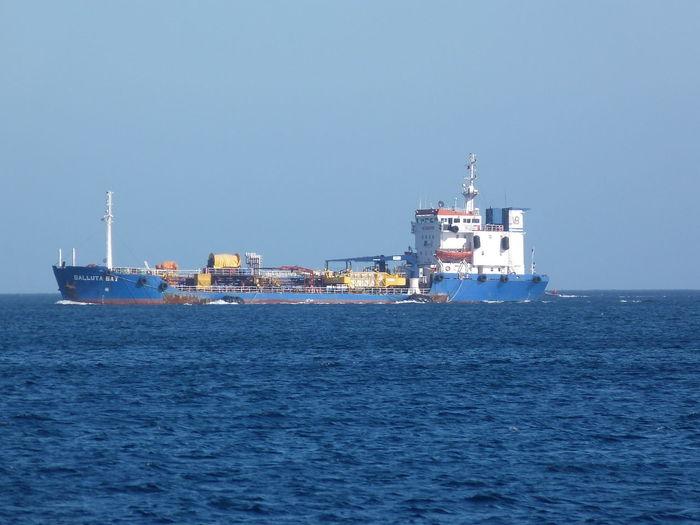 Balluta Malta Balluta Bay Nautical Vessel Sea Water Transportation Mode Of Transportation Sky Ship Copy Space Business Freight Transportation Shipping  Clear Sky No People