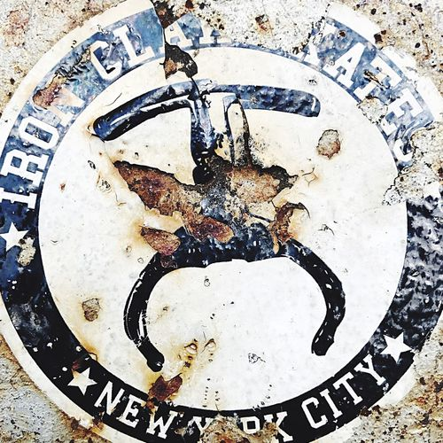 New York City NYC Photography Iron Claw Skateboard Label Sticker Skate No People Rust Fire Hydrant Hydrant