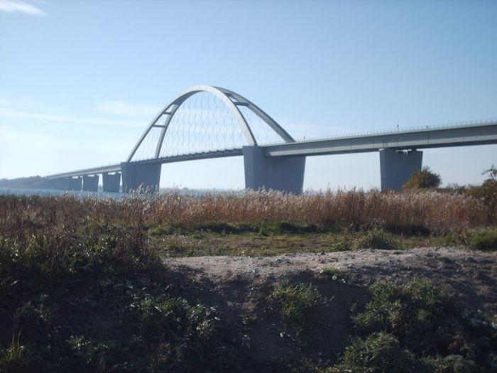 Fehmarnsundbrücke Holiday Bridge - Man Made Structure Clear Sky Fehmarn Fehmarnsund Outdoors Summer