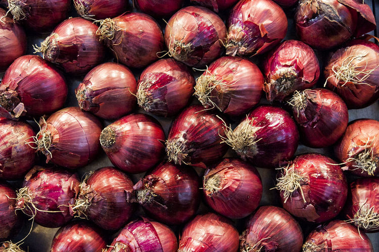 Detail shot of onions