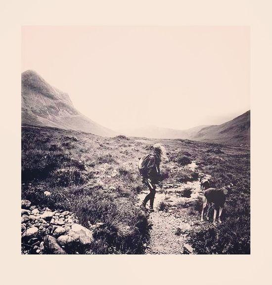 Landscape Nature Outdoors Beauty In Nature Mountain Black&white Blackandwhite Photography IsleOfSkye Sligachan Scotland Scottish Highlands Scottishisland Backpacker Backpacktraveler