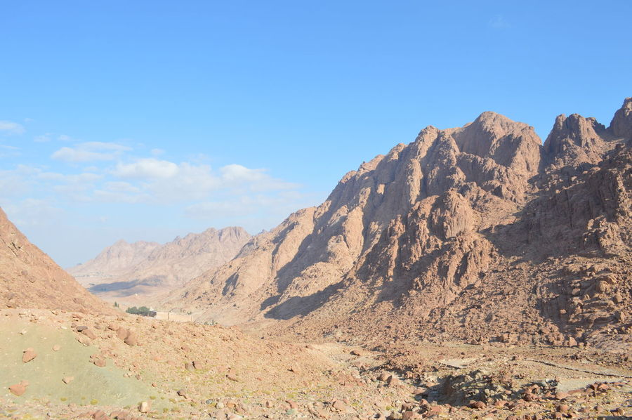 St. Catherine Beauty In Nature Day Desert Landscape Mountain Nature No People Outdoors Sinai Sinai Egypt Sky