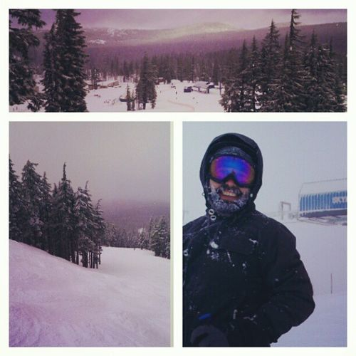 Good to be back on Mt Bachelor. Snow Day ❄ Skiing
