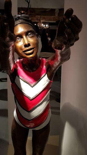 Statue standing in sculpture
