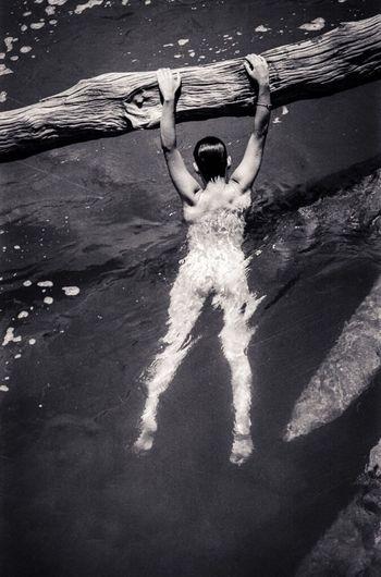 Monochrome Art Nudity Vs Censure Implied Nude Model