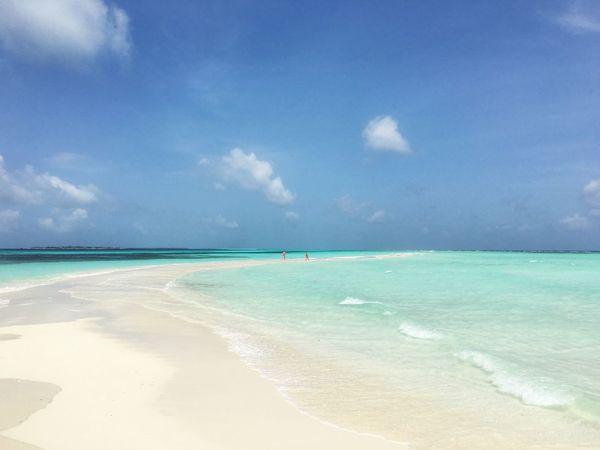 Maldives Beach Indianocean Sandspit Paradise Tropical