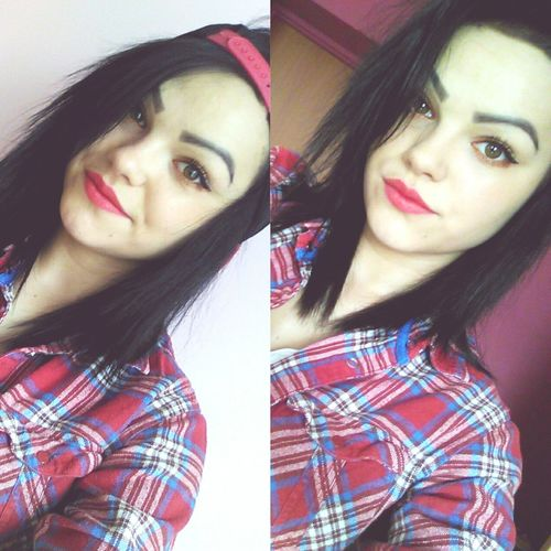 How Better? Hello Red 💄💖✨ 💄i Love Make!!! Cute♡ Black Hair <3