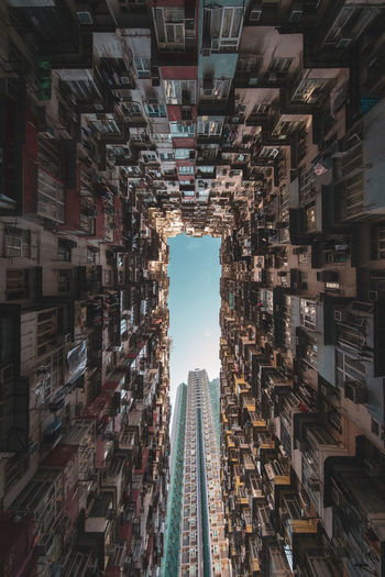 Montane Mansion at dusk Montane Mansion Dusk In The City Dusk Colours Quarry Bay Hong Kong 海山樓 益昌大廈 益發大廈 鰂魚涌 Architecture Arch EyeEm Best Shots EyeEm Selects EyeEm Gallery Built Structure Building Exterior Building City No People Tall - High Residential District Abundance Large Group Of Objects Outdoors Day Directly Below Sky Nature Modern Apartment Full Frame Tower Skyscraper