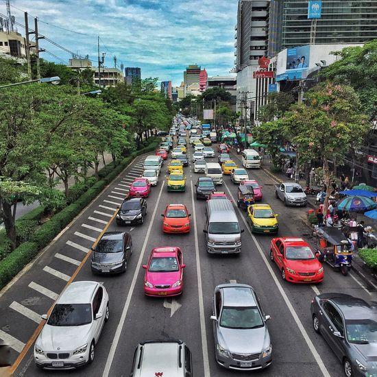 Traffic Bangkok Thailand