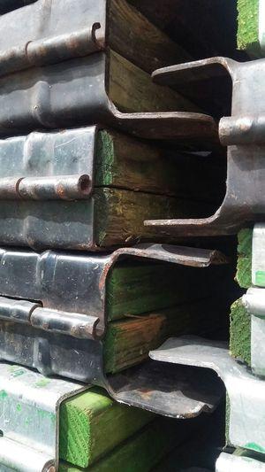 EyeEm Gallery EyeEm Best Shots Close Up No People Wood Pallets Grain Natural Pallet Metal Hinges Rust