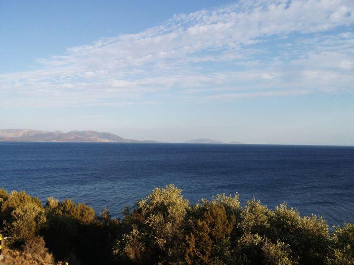 Sea Nature Cloud - Sky GREECE ♥♥ Greece Greecestagram Greece Island Sea I❤greece Places Nature Beaches