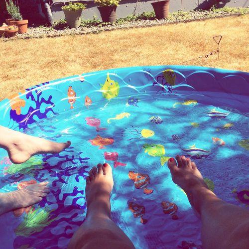 When it gets too hot in Washington Kiddy Pool Hotwashington