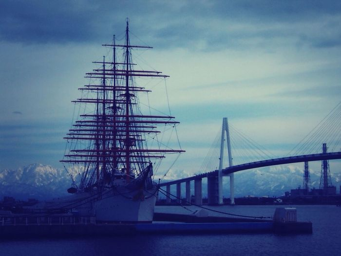 Olympus Bridge Mountain View Sailing Ship