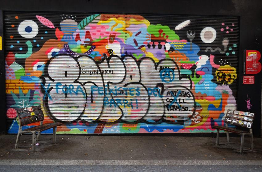 Art Art And Craft Barcelona Gracia City Life Creativity EyeEm Best Shots Eyeem Urban Shots Graffiti Graffiti Art Market Multi Colored Street Art Streetphotography Traveling Urban Walls Everybody Street My Best Photo 2015 The Street Photographer - 2016 EyeEm Awards TakeoverMusic Not An Ordinary Postcard