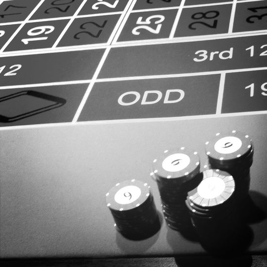 Gambling Roulette Chips Odd Gangsters Paradise Welcome To Black Black And White Friday