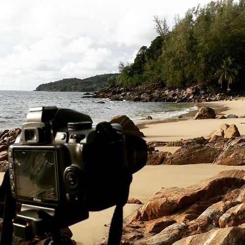 ได้กลับมาถ่ายรูปซักที.. หาดระหว่างในทอนกับหาดลายัน Bananabeach Phuket